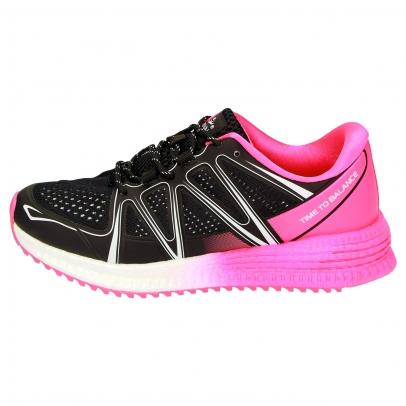 DUXFREE run2balance FLOW Damen schwarz/pink
