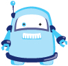 DUX chung shi-Bits Set Roboter blau 1 Set (=12 Stck sortenrein)