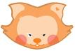 DUX chung shi-Bits Set Katze beige 1 Set (=12 Stck sortenrein)