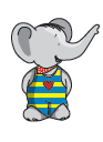 DUX chung shi-Bits Set Elefant 1 Set (=12 Stck sortenrein)