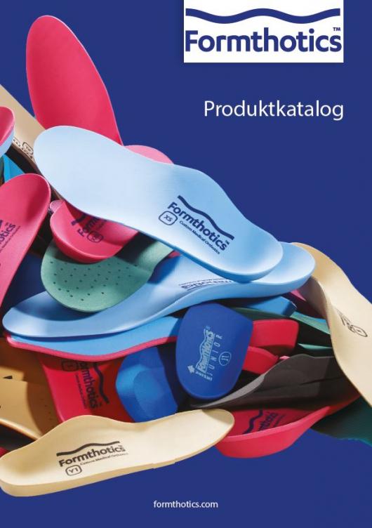 Formthotics Retail Produktkatalog