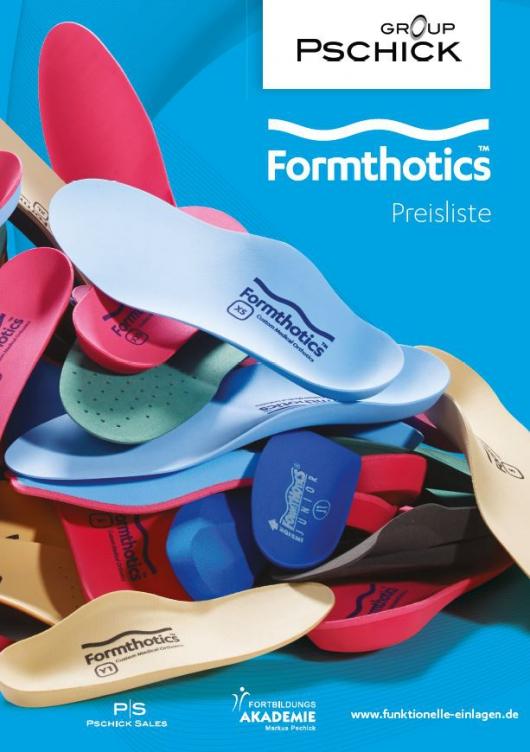 Formthotics Medical Preisliste