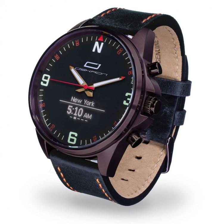 Oskron Gear Smartwatch  014 - schwarz